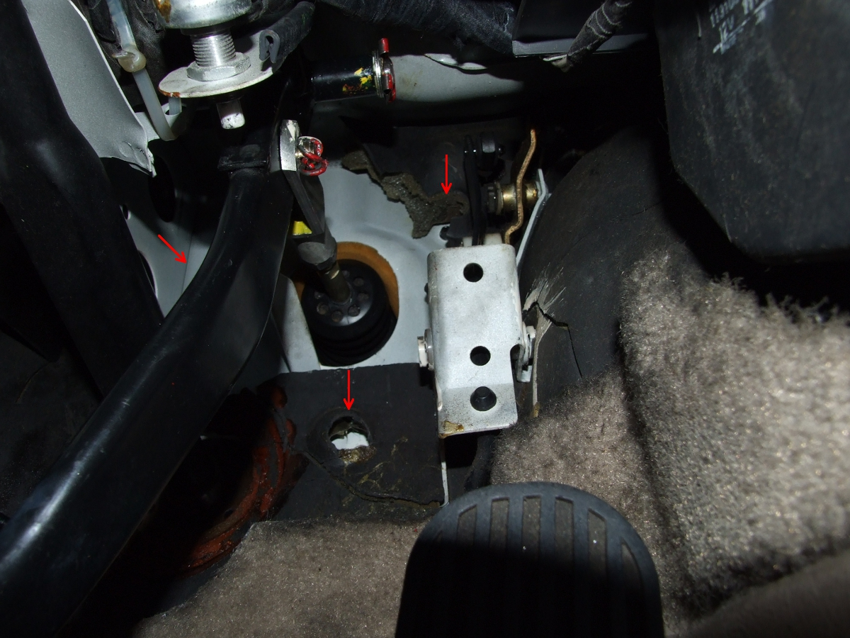 Porsche 944 Firewall brace