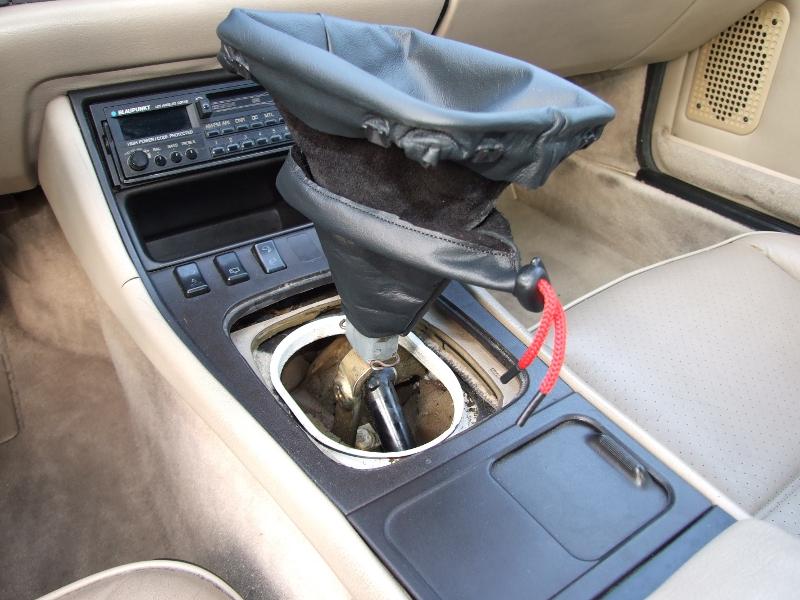 Porsche 944 inner shift cover