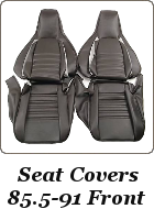 Seat covers, reupholstery kit, Porsche 924, 944, 968