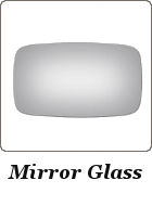 Replacement side mirror glass Porsche 944, Porsche 924, Porsche 928