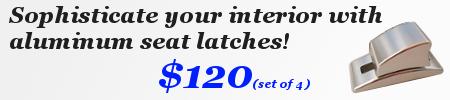 Porsche 944 Seat Latches