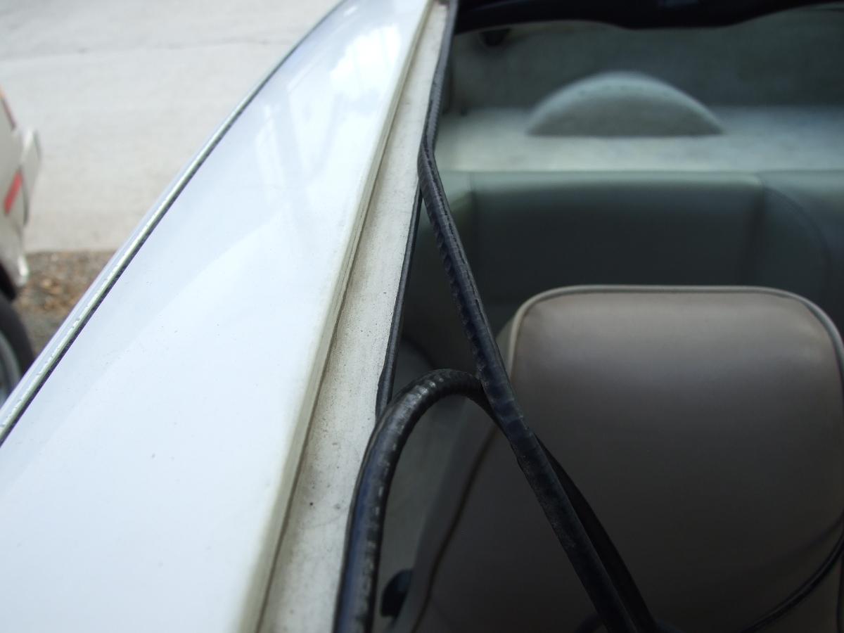 Porsche 944 sunroof seal installation