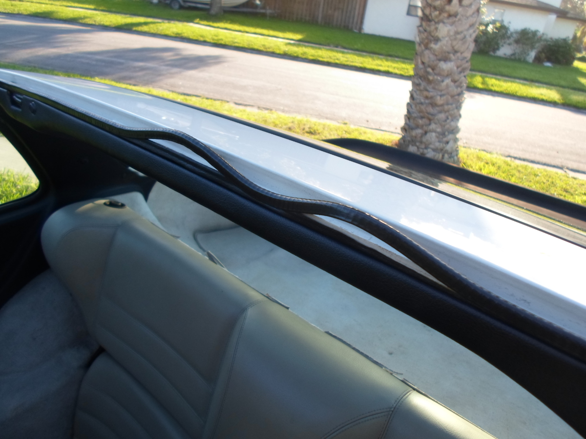 Porsche 944 sunroof seal installation